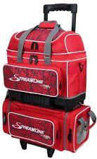 Storm Streamline 4 Ball Roller Bowling Bag Red Crackle Red