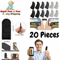 20x Gaming Finger Sleeve Mobile Screen Game Controller Sweatproof Gloves PUBG hm