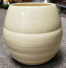 1940's Bauer Pottery Yellow Ring Ware Beehive Planter
