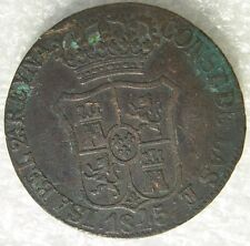 ESPAGNE SPAIN ESPANA : 6 QUARTOS 1845 CATALOGNE CATALUNA