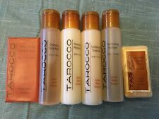 Tarocco Travel Lot Set, Shampoo Conditioner Body Wash Moisturizer Soap 6 items