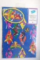 Very Rare Mighty Morphin Power Rangers Wrapping Paper Vintage