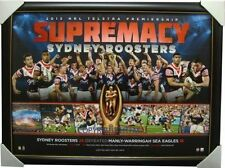 Sydney Roosters 2013 NRL Premiers Print Framed Official RRP $249.00 Minichiello