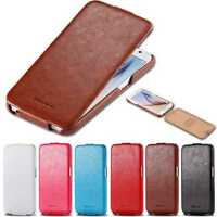 Vintage Handmade Leather Case Flip Pouch Ultra Thin Slim Cover Holder For iPhone