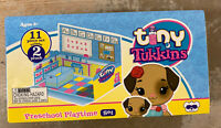 Tiny Tukkins Doggy Preschool Playtime Toy Playset 11pcs Brand New