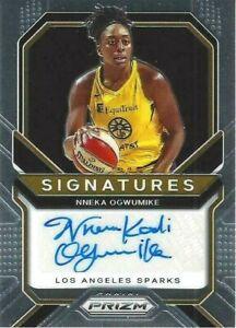2021 WNBA PANINI PRIZM * NNEKA OGWUMIKE * SIGNATURES AUTOGRAPH CARD LA SPARKS