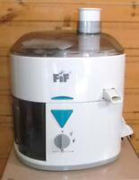 FIF Entsafter Saftpresse Edelstahl Presse Frucht Juicer Obstpresse 200 Watt