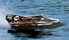 RC Rennboot Speedboot Mad Flow V3 Brushless 55km/h 3S Lipo 59cm 2,4 GHz NEU