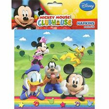 Mickey Mouse Clubhouse Party Napkins (16)