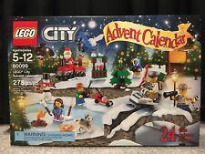 Lego City 2016 Christmas ADVENT CALENDAR - 60099 - New - RETIRED - Sealed SANTA