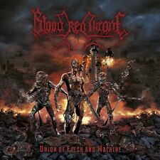 BLOOD RED THRONE Union Of Flesh And Machine CD (Death Metal) krisiun aborted
