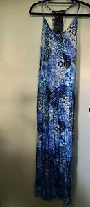 Mambo Designer Beach Dress & Matching Bikini Set Size 10 - Great Condition.