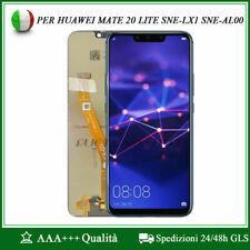 Touch Screen LCD Display per Huawei Mate 20 Lite Sne-lx1 Sne-al00 Nero