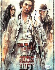 Takashi Miike Signed Sukiyaki Western Django 8x10 Poster Photo Proof ACOA