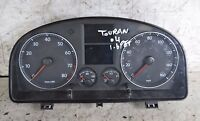 Vauxhall Zafira Speedo Meter Manual Petrol Instrument Cluster 2006 13216695