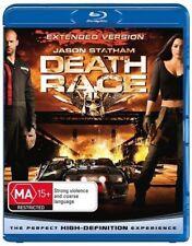 Death Race (Blu-ray, 2009) Extended Version Jason Statham, Ian McShane