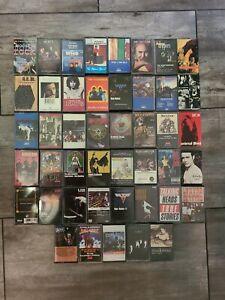 46 Classic Rock Heavy Metal Sabbath Dio Soundgarden Megadeth Cassette Tape lot