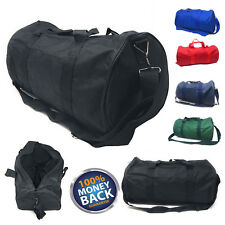 "18"" NEW Polyester ROLL Duffle Duffel Bag Travel/Gym/Carry-On Sport Gym Fit Bag"