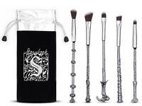 5PCS Harry Potter Hogwarts Magic Wand Makeup Brush Cosmetic Brush Makeup Tools