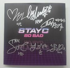 KOREA MUSIC] STAYC - [Star To A Young Culture] Single ALBUM CD K-POP (Signed CD)
