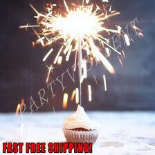 Gold Sparklers for Birthday, Wedding, Restaurant, New Years, Anniversary Sweet16