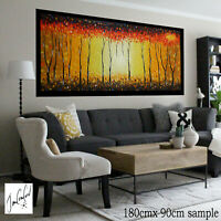 art painting texture canvas abstract BushFire by jane crawford Non Aboriginal