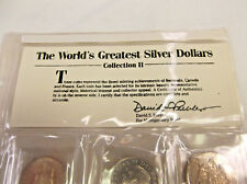 The World 's Greatest Silver Dollar Coin Collection II  Free Shipping !!!