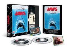 Jaws Blu-ray & DVD VHS Range Horror Limited Edition New & Sealed Region 2 & 4