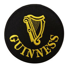 """Guiness Embroidered Iron On Sewn On 3"""" Embroidered Patch"""