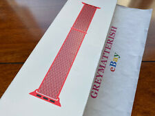 SEALED 100% Genuine HIBISCUS Apple Sport Loop Watch band 42mm/44mm MTMF2AM/A RED