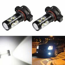JDM ASTAR 2x 50W CREE 5202 5201 White LED Bulb Fog Driving Daytime Running Light
