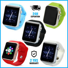 Original A1/W8 Smart Watch Montre Horloge Bluetooth Android iOS 5 COLORS