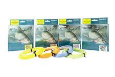 Moulinets de pêche bleus