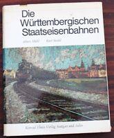 Württembergische Staatseisenbahnen Mühl/Seidel, Lieferlisten/Zeichnungen der Lok