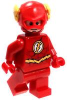 NEW LEGO FLASH MINIFIG 76098 DC COMICS JUSTICE LEAGUE SUPER HEROES MINIFIGURE