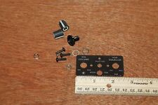 Avionics Placard and Knobs Ics Volume Vox Squelch
