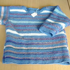 Handmade Striped Jumpers & Cardigans (0-24 Months) for Boys