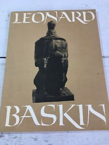 Leonard Baskin : softcover book  Published by Smithsonian Institution 1970