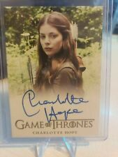 2015 Charlotte Hope Game of Thrones Season as  Myranda Autographed Card  AU Auto