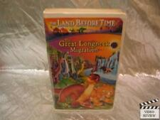 The Land Before Time X: The Great Longneck Migration (VHS, 2003) Large Case Anim