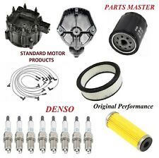 Tune Up Kit Filter Cap Wire Spark Plugs For PONTIAC GRAND AM V8 5.0L 1980