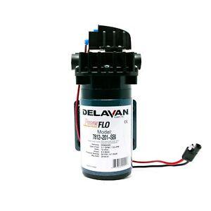 Delavan 7812-201-SBI I Series 12 Volt 60 PSI 2.1 GPM On Demand Diaphragm Pump