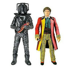 "DOCTOR WHO - 6th Doctor & Stealth Cyberman 6"" Action Figure 2-Pack #NEW"