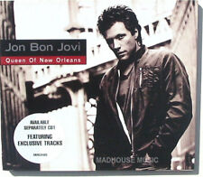 BON JOVI CD Queen Of New Orleans NEW inc. POSTER DIGI -PACK Jon