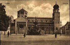 Trient Trento Italien Italia AK ~1910 Kirche Dom Zwiebelturm Duomo Kathedrale