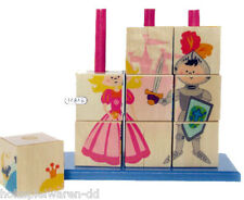 "Hess 14846 Picture cubes ""Fairy tale"" Cube puzzle to insert new! #"