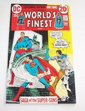 World's Finest #215 and #242 - DC Bronze Age Issues - VF/NM 9.0 range for both