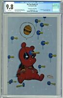 Do You Pooh #1 CGC 9.8 Deadpool #1 Metal Edition Young Virgin Cover Homage UCB