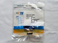 1499543-1 Undercarpet Floor Fitting Kit Modular Jack Bracket, Black