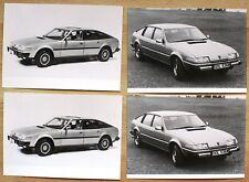 très rare Communiqué de Presse / Press Release Rover 2600S / 3500 - Suisse 1981